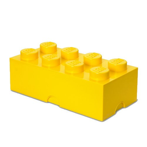 Storage Brick Yellow 8