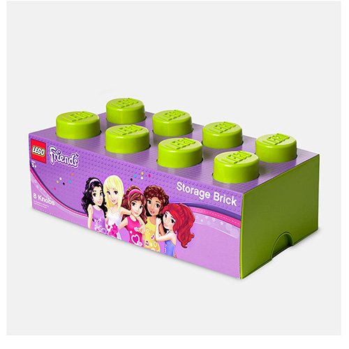 LEGO Storage Brick Lime Friends 8