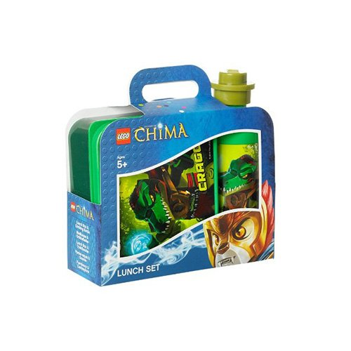 LUNCH THEME SET (CHIMA) - GREEN