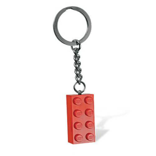 Red Brick Key Chain