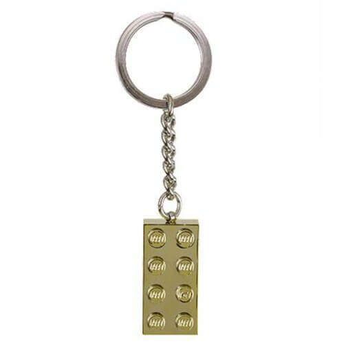 Gold Brick Key Chain