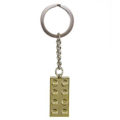 Gold Brick Key Chain