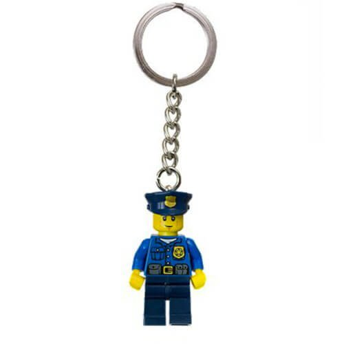 City Policeman Key Chain