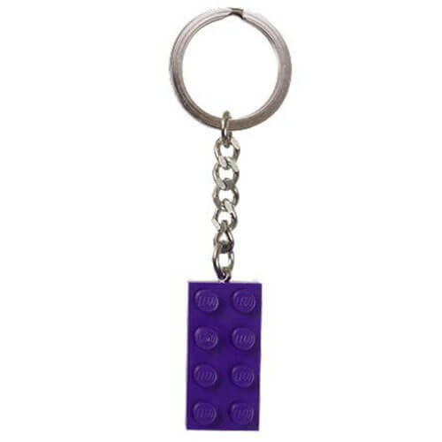 Purple Brick Key Chain