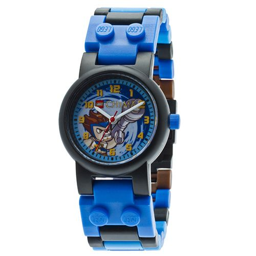 9000393 LEGO Legends of Chima Lennox Kids watch with mini figure (square)
