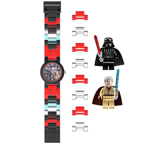 9001222 LEGO Star Wars Darth Vader and Obi-Wan Kenobi Kids' Watch Bundle (square)