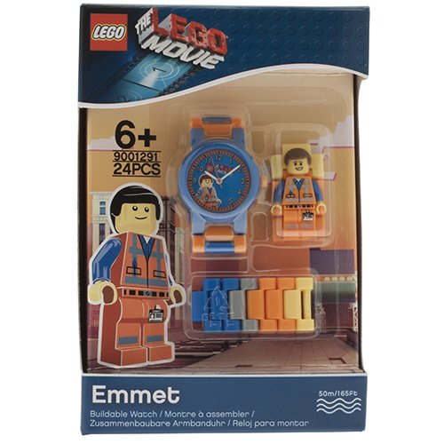 9001291 LEGO Movie Emmet MF Link Watch (Square)