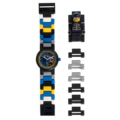9001307 LEGO Movie Bad Cop MF Link Watch (Square)