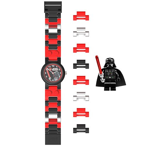 9004292 LEGO Star Wars Darth Vader MiniFig Link Watch (flat)