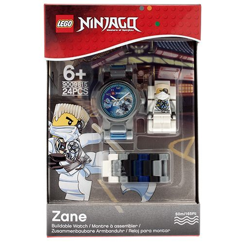 9009815 LEGO Ninjago Zane MF Link Watch (2014) (Square)