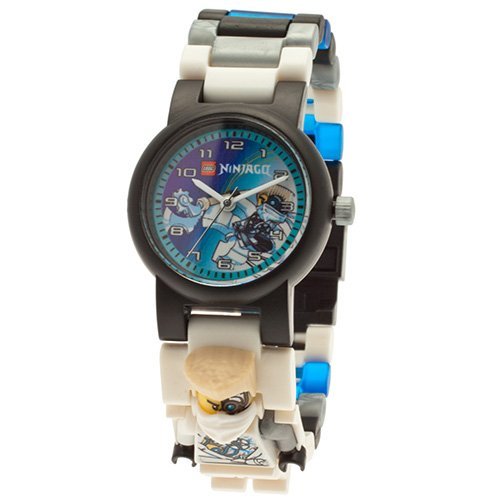 9009815 LEGO Ninjago Zane MF Link Watch (2014) (Square)