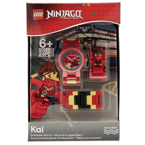 9009839 LEGO Ninjago Kai MF Link Watch (2014) (Square)