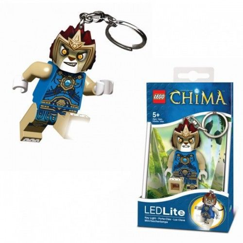 LGL-KE35 LEGO Chima Laval privjesak za ključeve sa baterijama