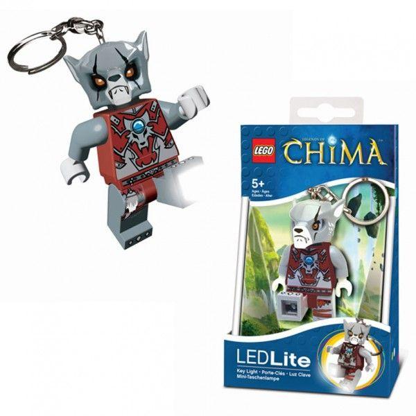LGL-KE37 LEGO Chima Worriz privjesak za ključeve sa baterijama