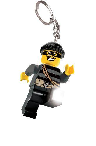 LGL-KE33 LEGO City Mastermind privjesak za ključeve sa baterijama