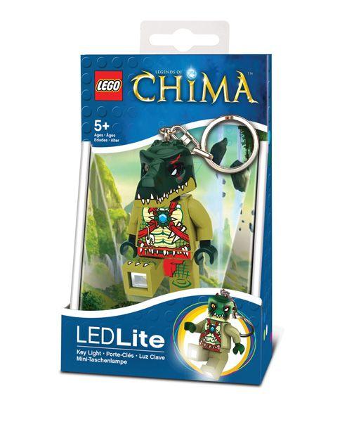 LGL-KE36 LEGO Chima Cragger privjesak za ključeve sa baterijama