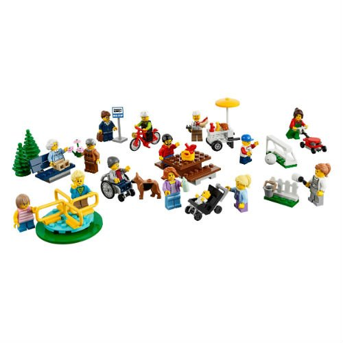 60134 Fun in the Park - City People Pack