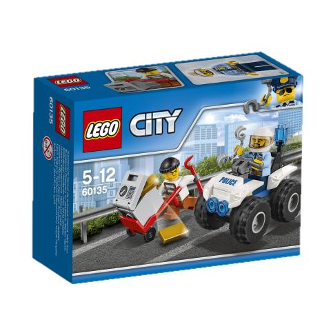 60135 City Police Uhićenje na ATV-u