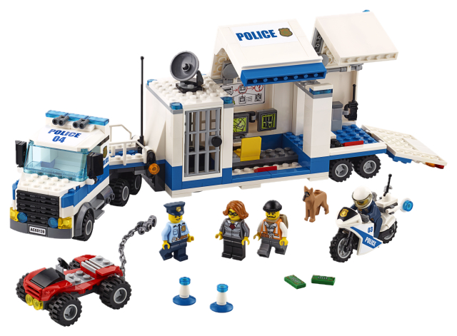 60139 City Police Mobilni zapovjedni centar