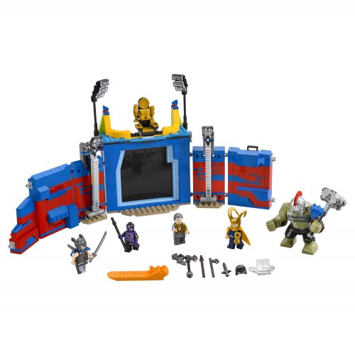 76088 Thor protiv Hulka: Sukob u areni