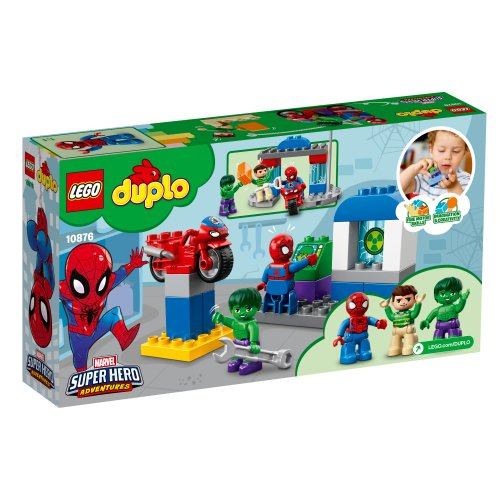 10876 Avanture Spider-Mana & Hulka