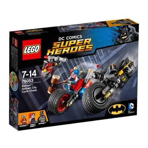 76053 Batman: Potjera na motorima kroz Gotham City