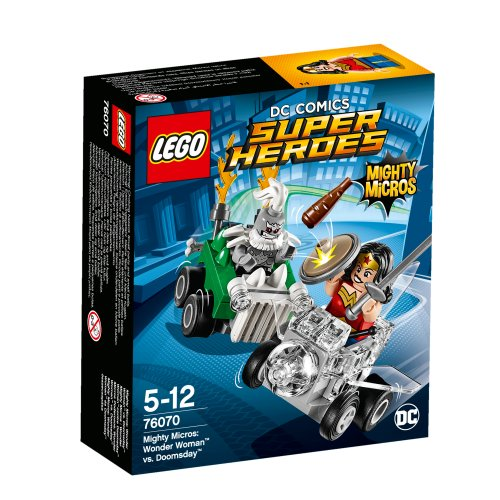 76070 Mighty Micros: Wonder Woman protiv Doomsdaya