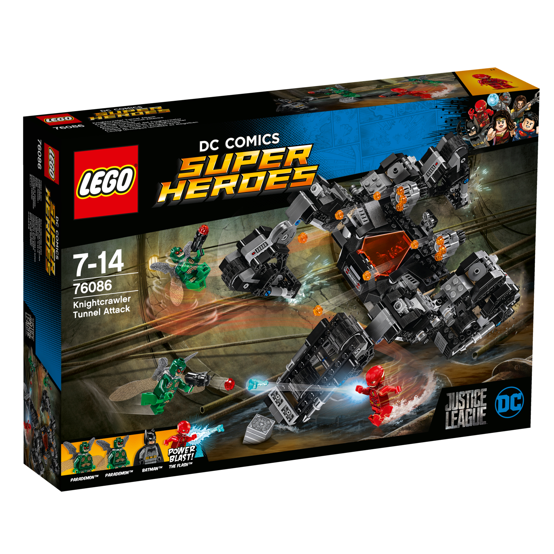 76086 Knightcrawlerov tunelski napad