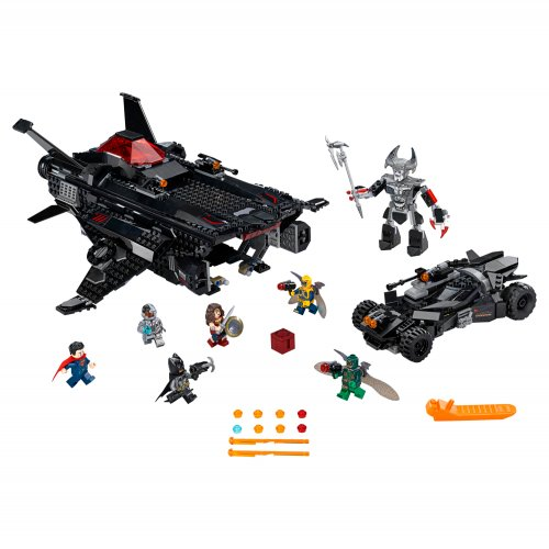 76087 Flying Fox: Zračni napad Batmobilea