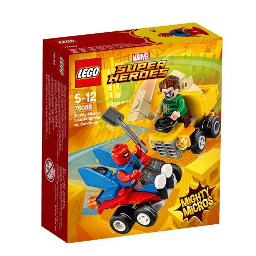 76089 Mighty Micros: Scarlet Spider protiv Sandmana