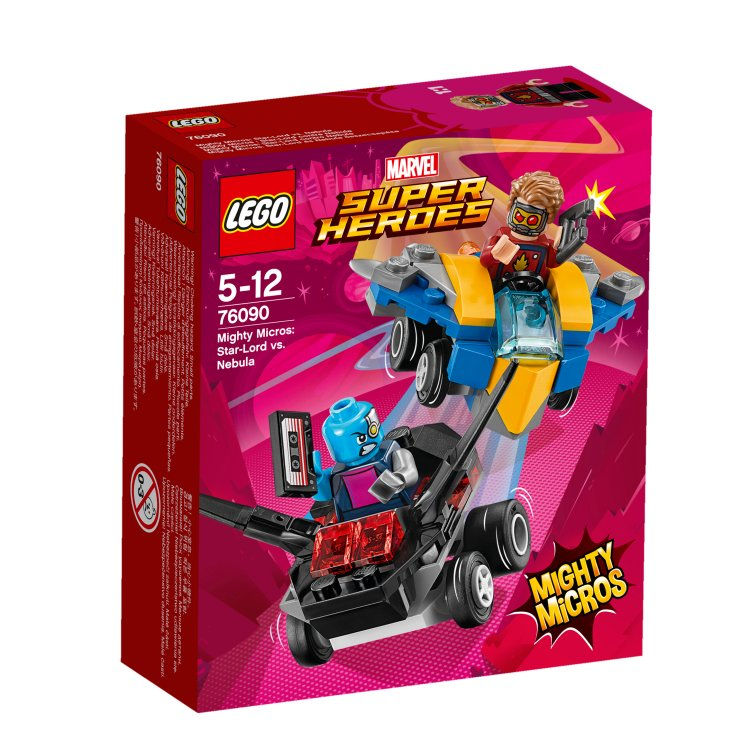 76090 Mighty Micros: Star-Lord protiv Nebula