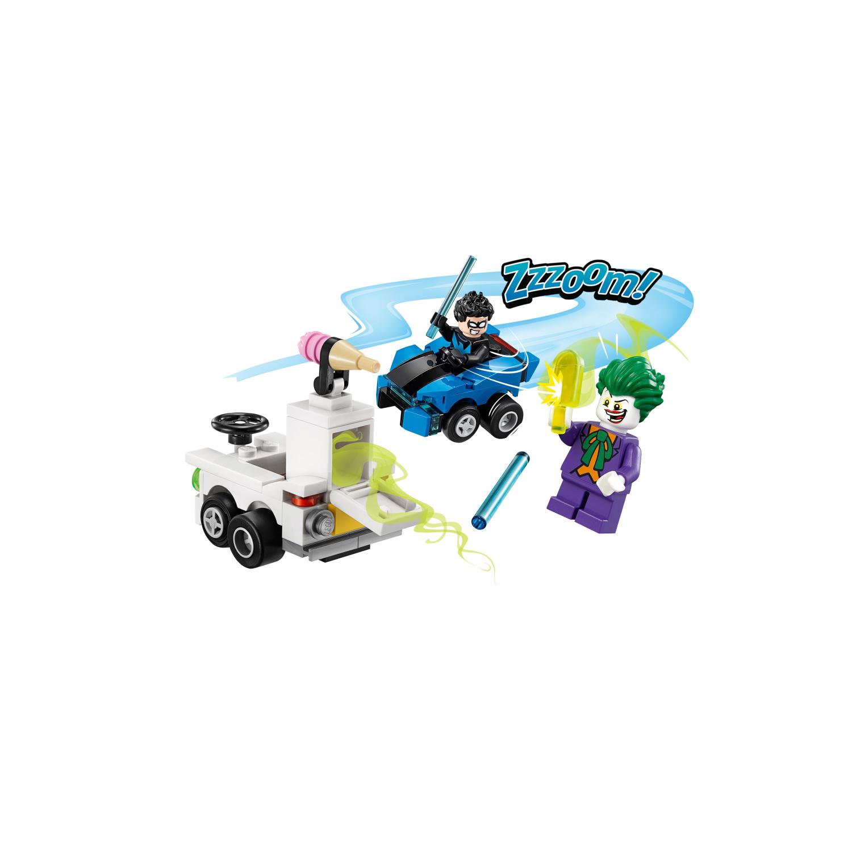 76093 Mighty Micros: Nightwing™ protiv Jokera™