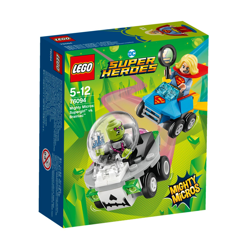 76094 Mighty Micros: Supergirl protiv Brainiaca