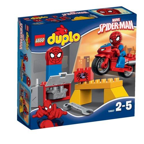 10607 DUPLO Super Heroes Radionica sa Spider-Manovim mrežociklom