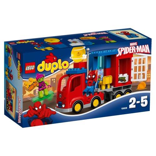 10608 DUPLO Super Heroes Pustolovina sa Spider-Manovim paukovim kamionom