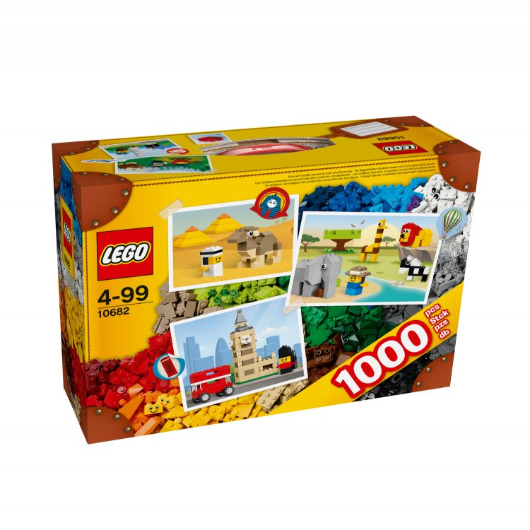 10682 LEGO Creative Suitcase Box