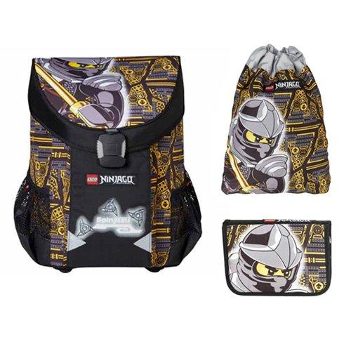 NINJAGO COLE - Easy set školske torbe (sa torbom za tjelesni i pernicom)