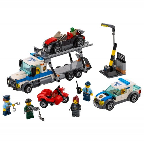 60143 City Police Napad na transporter