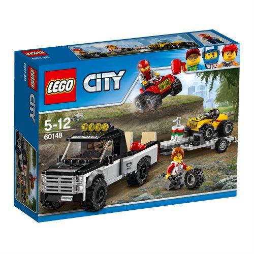 60148 City Great Vehicles ATV Ekipa za utrke