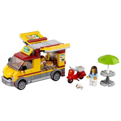 60150 City Great Vehicles Kombi za dostavu Pizze
