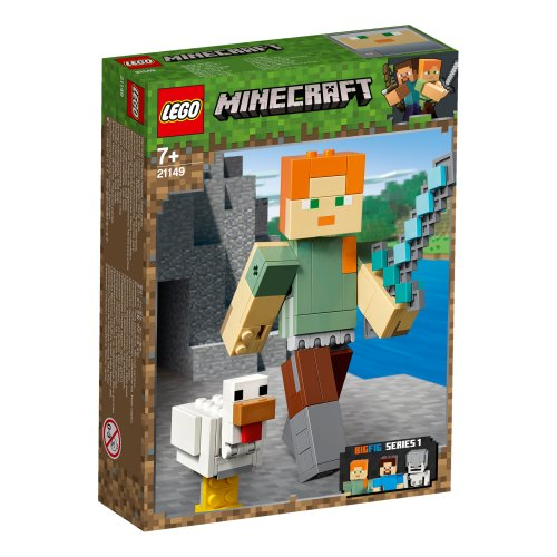 21149 Minecraft™ BigFig Alex s piletom