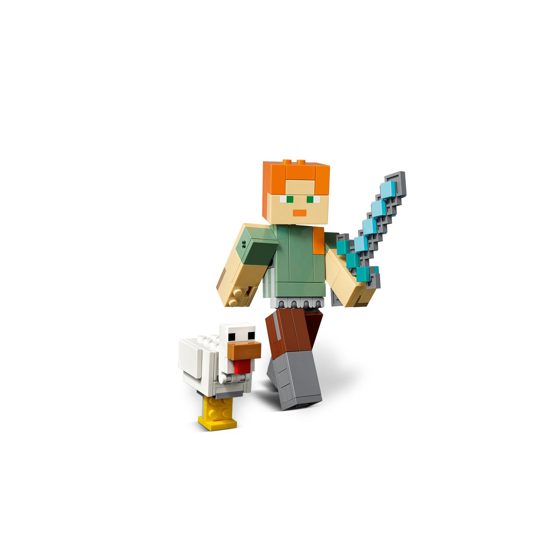 21149 Minecraft™ BigFig Alex s piletom