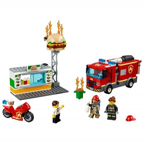 60214 Spašavanje fast food-a od požara