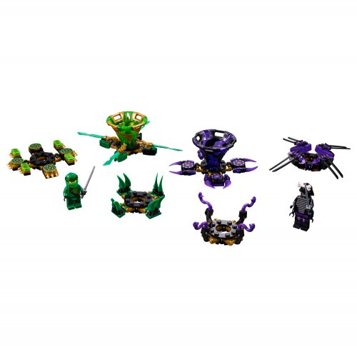 70664 Spinjitzu Lloyd vs. Garmadon