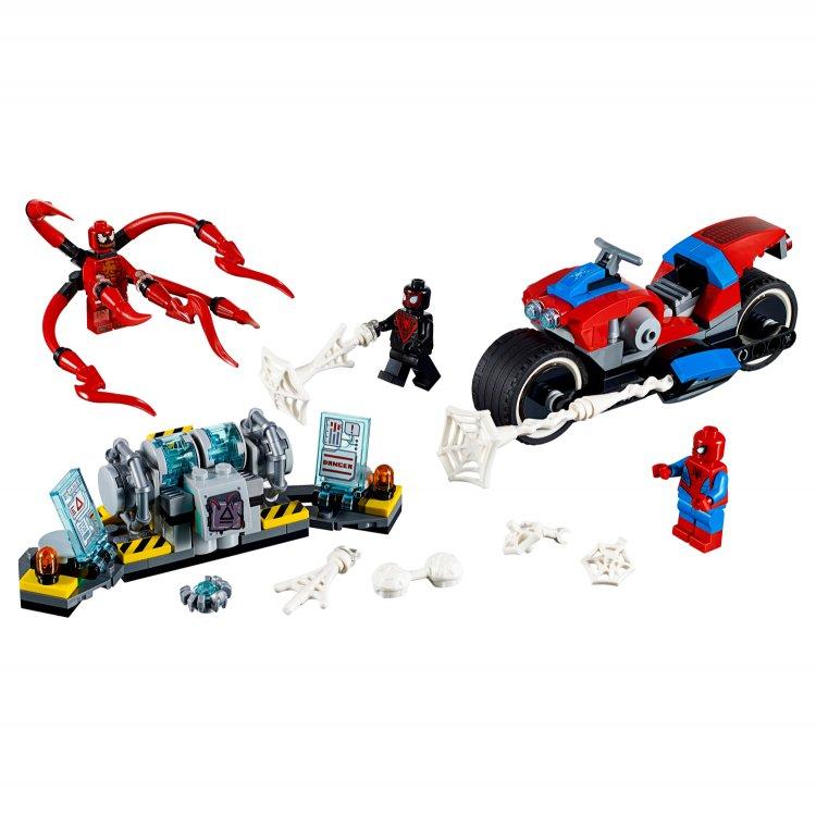76113 Spider-Manovo spašavanje na motociklu