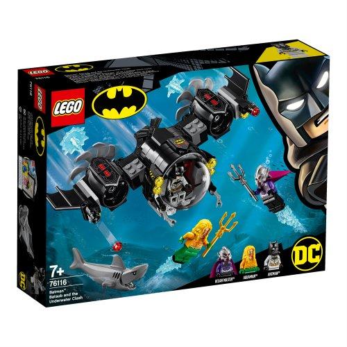 76116 Batmanova podmornica i podvodni sukob