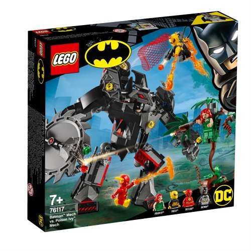 76117 Robot Batman™ protiv robota Poison Ivy™