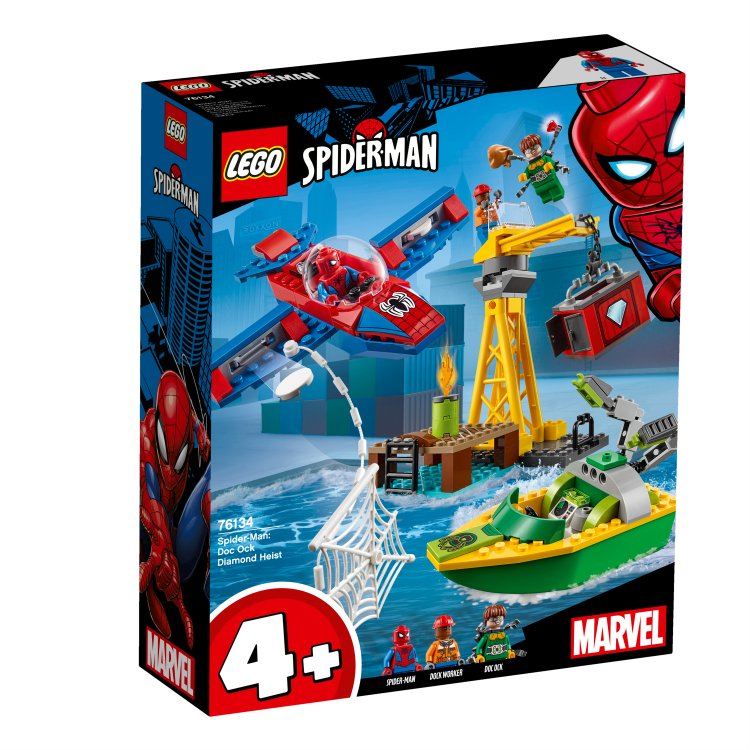 76134 Spider-Man: Doc Ock i krađa dijamanata