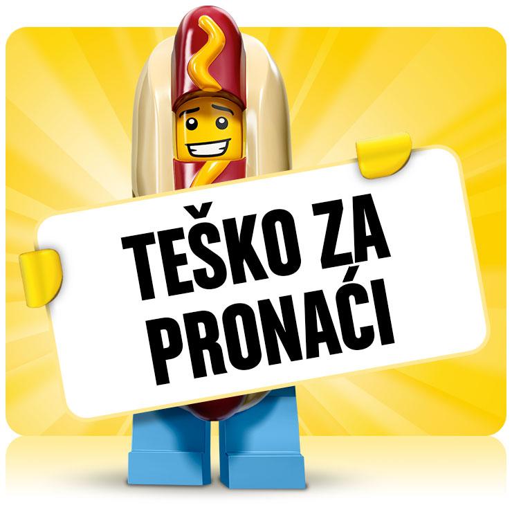 LEGO Tesko pronaci