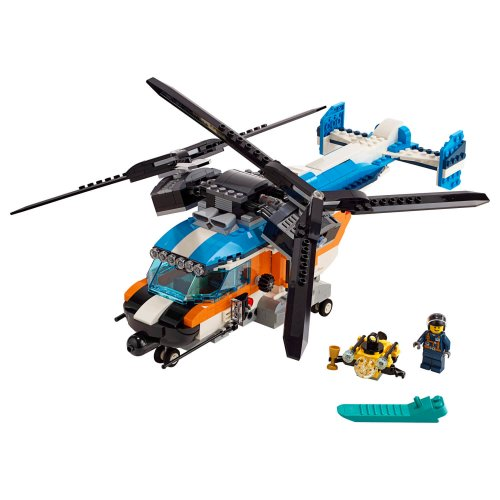 31096 Helikopter s dvostrukim rotorom